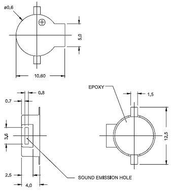 供应台湾原装obo-40bs1,obo-40bs2,obo-40bs3贴片蜂鸣器